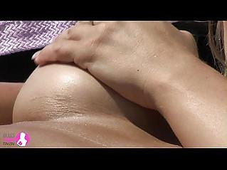 Busty Lesbian Pool Sex Viv Thomas HD