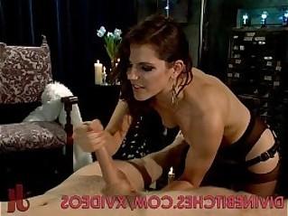 Divine Dominatrix Dominates Her Male Slave