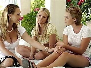 Scarlet Red, Tanya Tate and Bailey Bae at Mommys Girl
