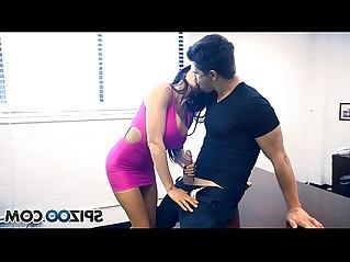 Spizoo Romi Rain Take a big dick in her throat, big boobs big booty
