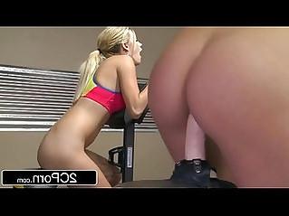 Sit Spin New Gym Class For Lesbians Kenna James, Blake Eden Karlie Montana