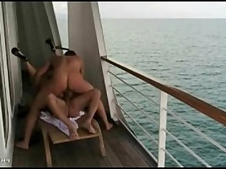 Pls name of pretty girl suck and fuck on the big boat