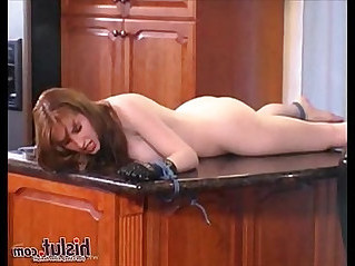Wonderful natali demore redhead punished like a slave by lesbian mistress