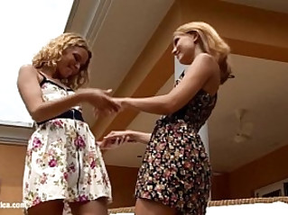 Heavenly Seduction by Sapphic Erotica sensual lesbian babes love porn with Corinne Natie