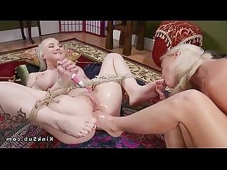 Anal foot fucking busty lesbian